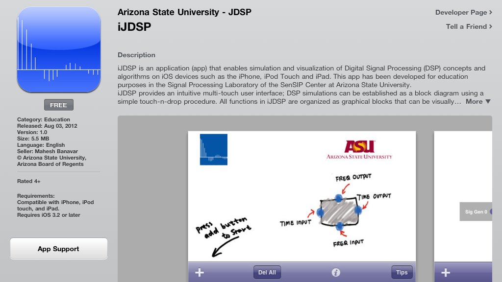 App Store Cover Image for JDSP on iTunes